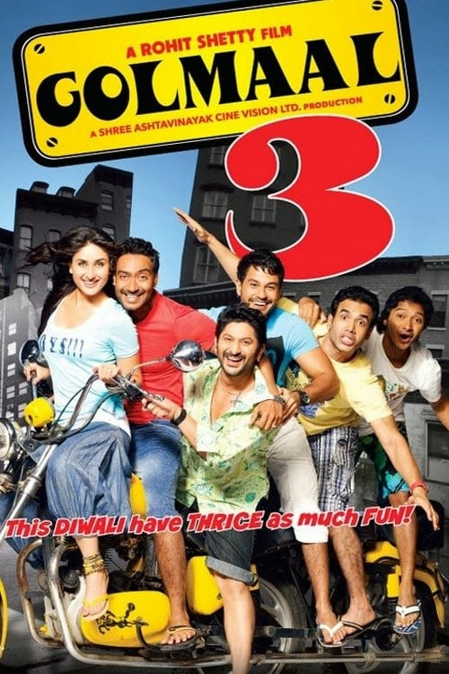 """Poster for the movie """"Golmaal 3"""""""