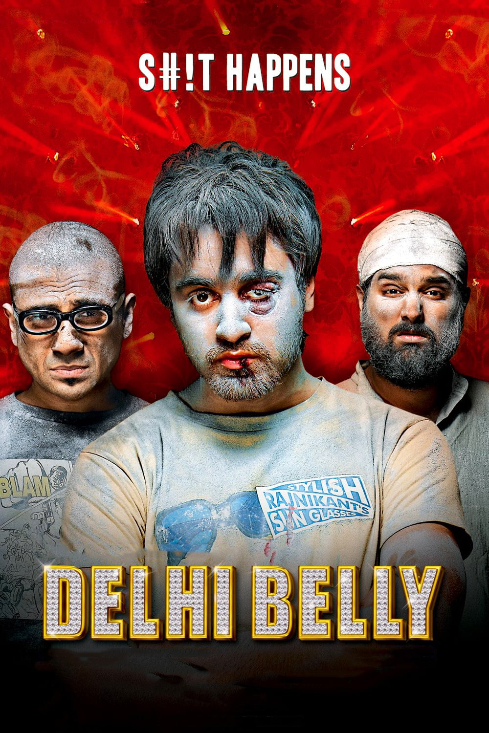 """Poster for the movie """"Delhi Belly"""""""