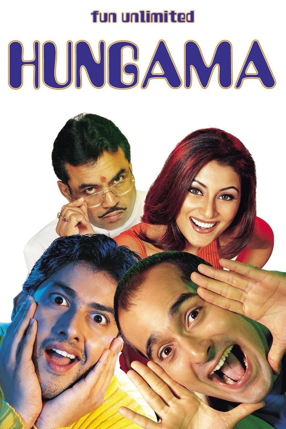 """Poster for the movie """"Hungama"""""""